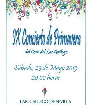 IX Concierto de Primavera del Coro del Lar Gallego