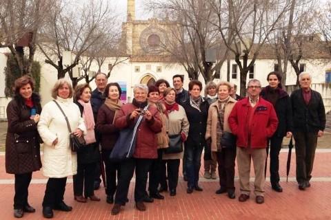 Visitas culturales del Lar 2014. Con Diana Barja