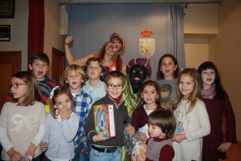 Fiesta infantil de Reyes 2015