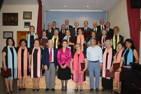 IX Concierto de Primavera del Coro del Lar Gallego. Homenajeado: Antonio Patiño