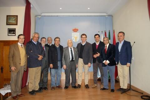 Alberto Núñez Feijoo, Presidente de la Xunta de galicia visita el Lar Gallego de Sevilla