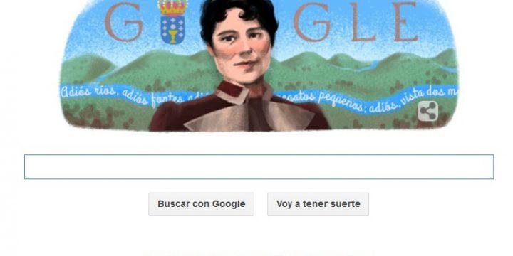 Google homenajea a la poetisa Rosalía de Castro