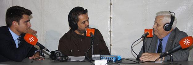 """Alfredo Otero en el programa de radio """"La hora de Sevilla"""""""