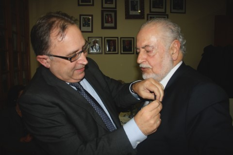 Ricardo Vázquez, Médico, Socio y Ex Presidente del Lar