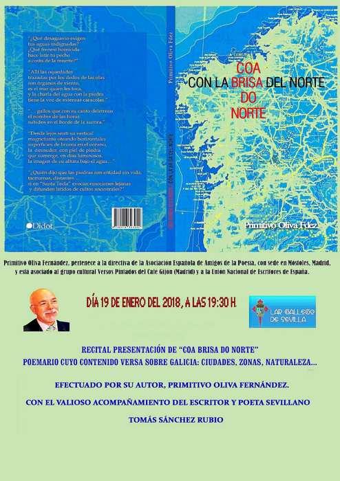 Recital de Poesía en el Lar Gallego