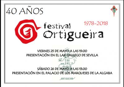 Presentación del Festival de Ortigueira