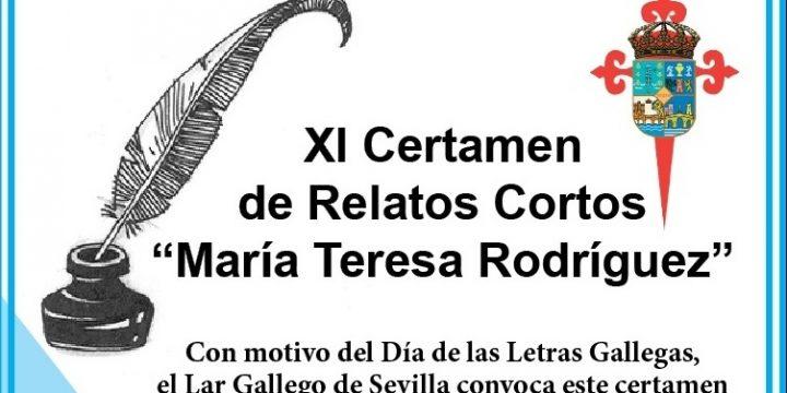 "XI CERTAMEN DE RELATOS CORTOS ""MARÍA TERESA RODRÍGUEZ"""