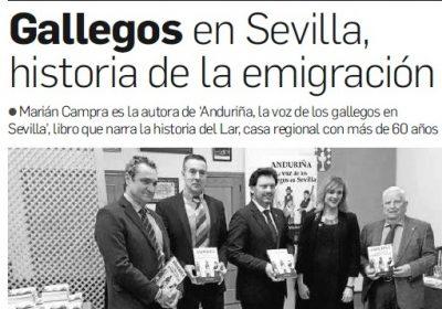Anduriña, La Voz de los Gallegos en Sevilla – Diario de Sevilla