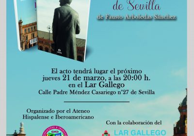 PRESENTACIÓN DEL LIBRO «Personajes monumentales de Sevilla»