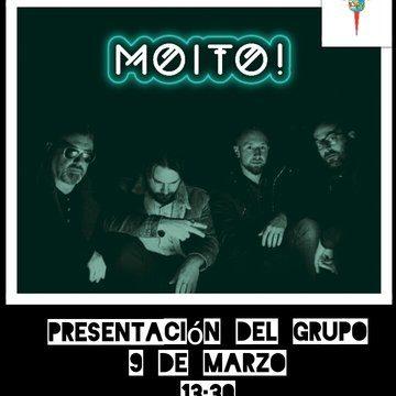 """PRESENTACIÓN DEL GRUPO """"MOITO"""""""