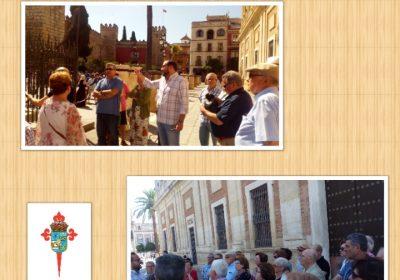 """Taller """"Conocer Sevilla""""-Visita al Archivo de Indias de Sevilla"""
