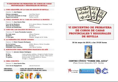 Encuentro de Primavera de Coros de Casas Regionales