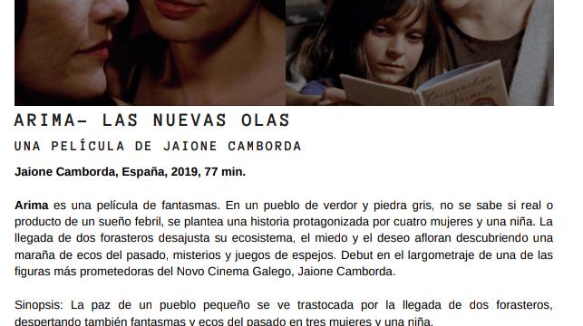 Películas gallegas en el 16 Festival de Sevilla (8-16 de noviembre de 2019)