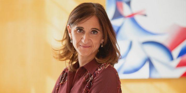 Carmen Pomar, Conselleira de Educación, Universidad y Fomación Profesional de la Xunta de Galicia