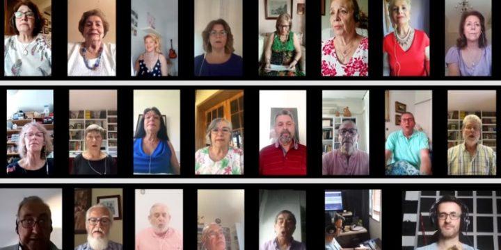 El Coro canta Sevillanas antiguas del Siglo XVIII – COVID19 – Virtual Choir
